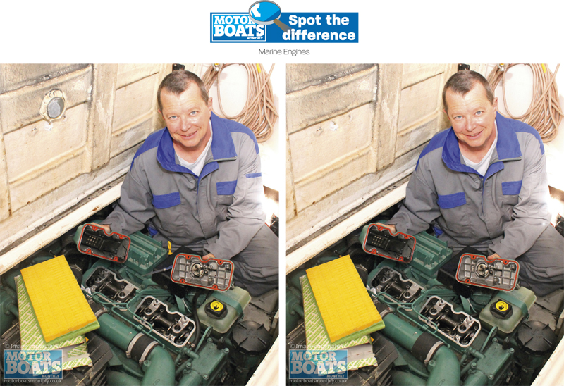 Marine Engines | Spot the Difference | Motor Boats Monthly