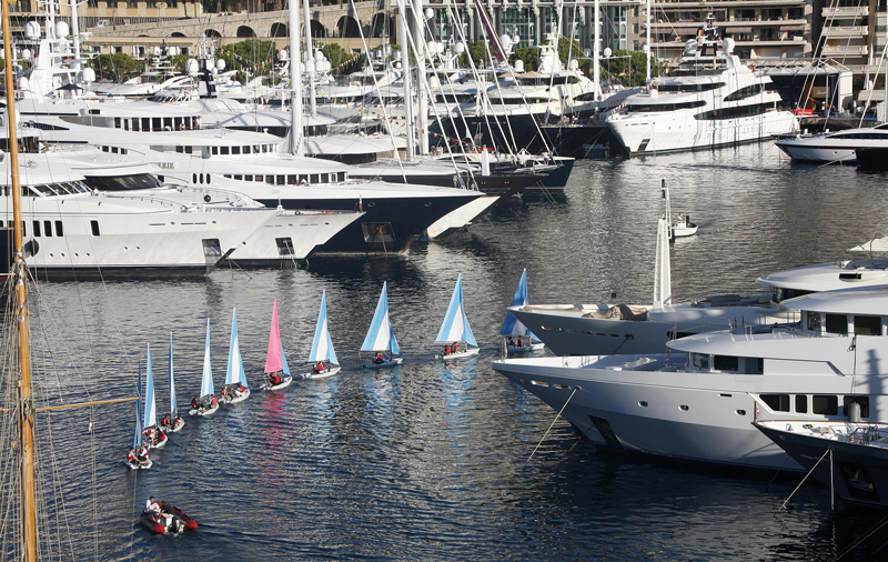 Monaco Harbour | Best Boating Photos | Motor Boats Monthly