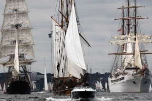 Tall ship parade | Galleries | Motor Boats Monthly |