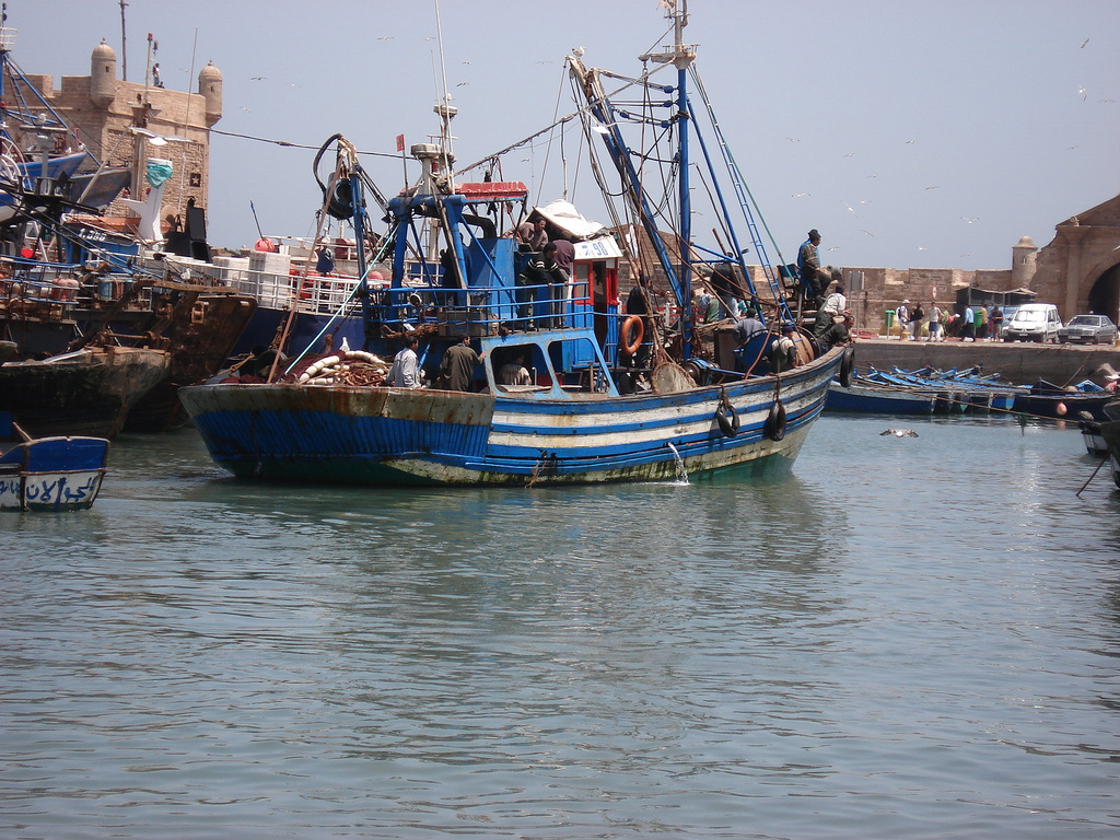 Morroco forces fishing boats to leave