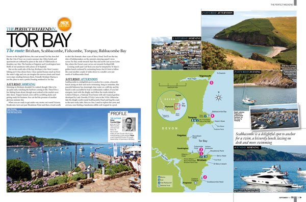 Motor Boat & Yachting   Perfect Weekend Tor Bay