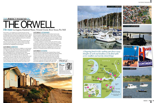 Motor Boat & Yachting | Perfect Weekend The Orwell