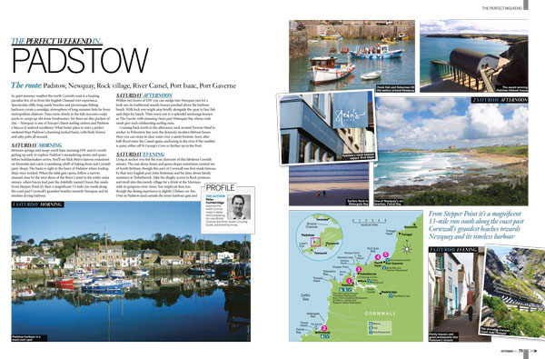 Motor Boat & Yachting   Perfect Weekend Padstow