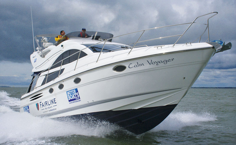 Calm Voyager Fairline Cruising Club