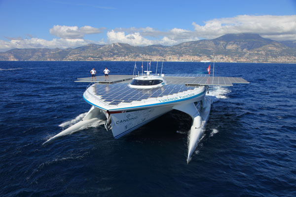 Motor Boat & Yachting   PlanetSolar