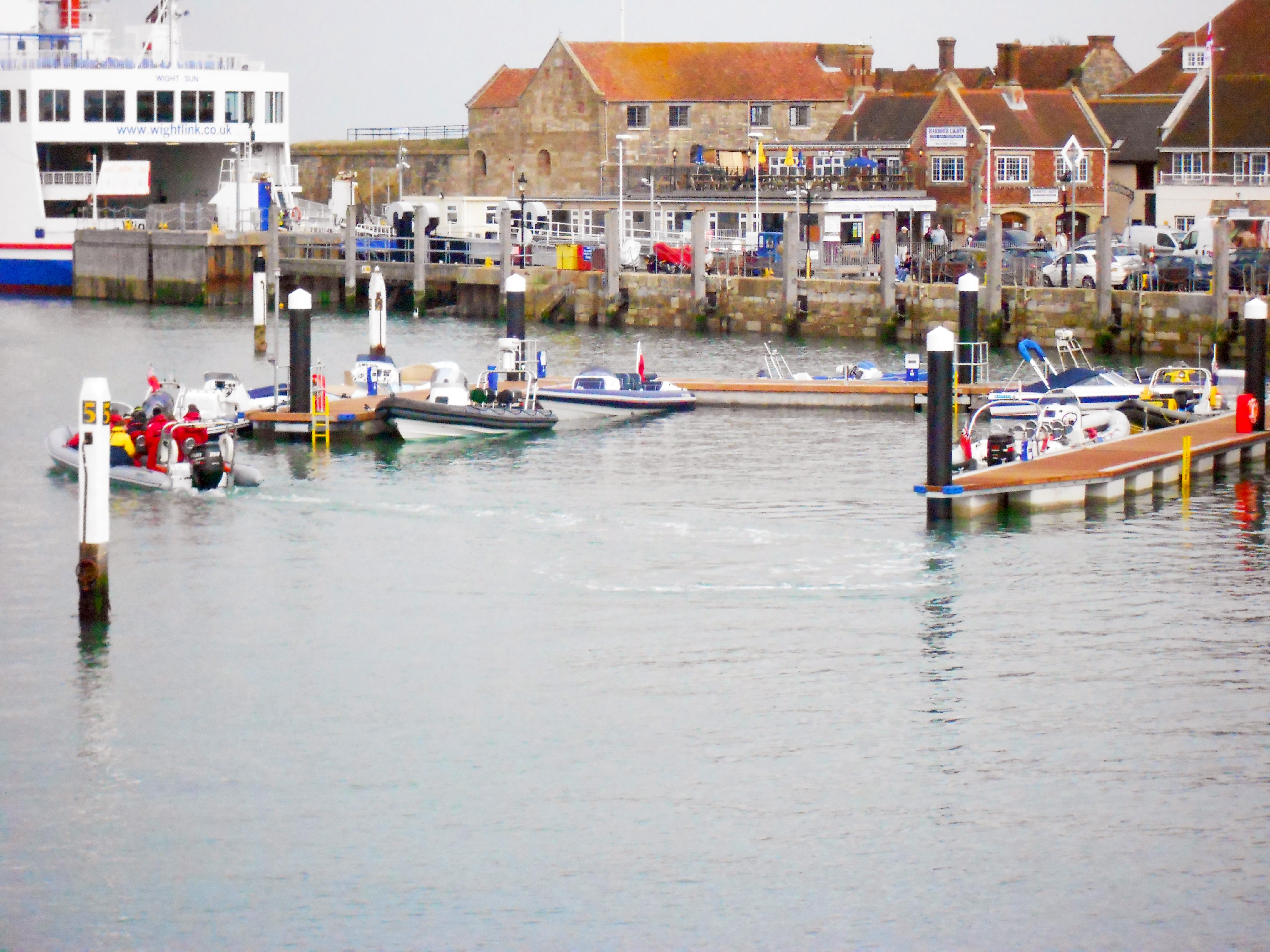 Pontoons Yarmouth Harbour