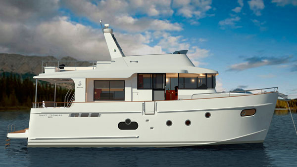 Motor Boat & Yachting   Beneteau Swift Trawler 50