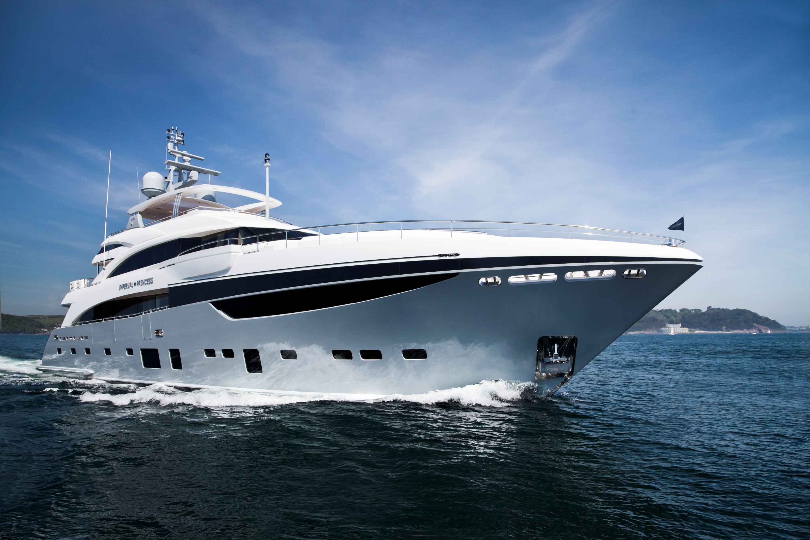 New 40m Princess Unveiled Motor Boat Yachting