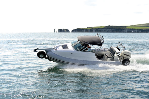 Motor Boat & Yachting   Sealegs 7.7 Cabin