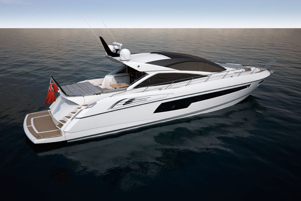 Motor Boat & Yachting   Sunseeker Predator 68