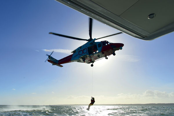 Motor Boat & Yachting | Helicopter Rescue
