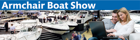 Armchair Boat show london 2012