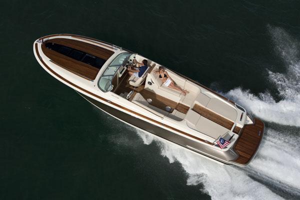 Chris craft corsair 32 motor boat yachting for Chris craft corsair 32 for sale