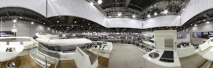 Motor Boats Monthly 360 shots from the London Boat Show 2013