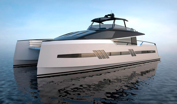 Euphoria Serie 6 Power Catamaran Motor Boat Yachting
