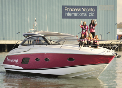 Princess Yachts charity