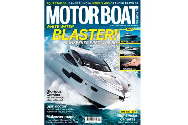 Motor Boat & Yachting   May 2013 Cover