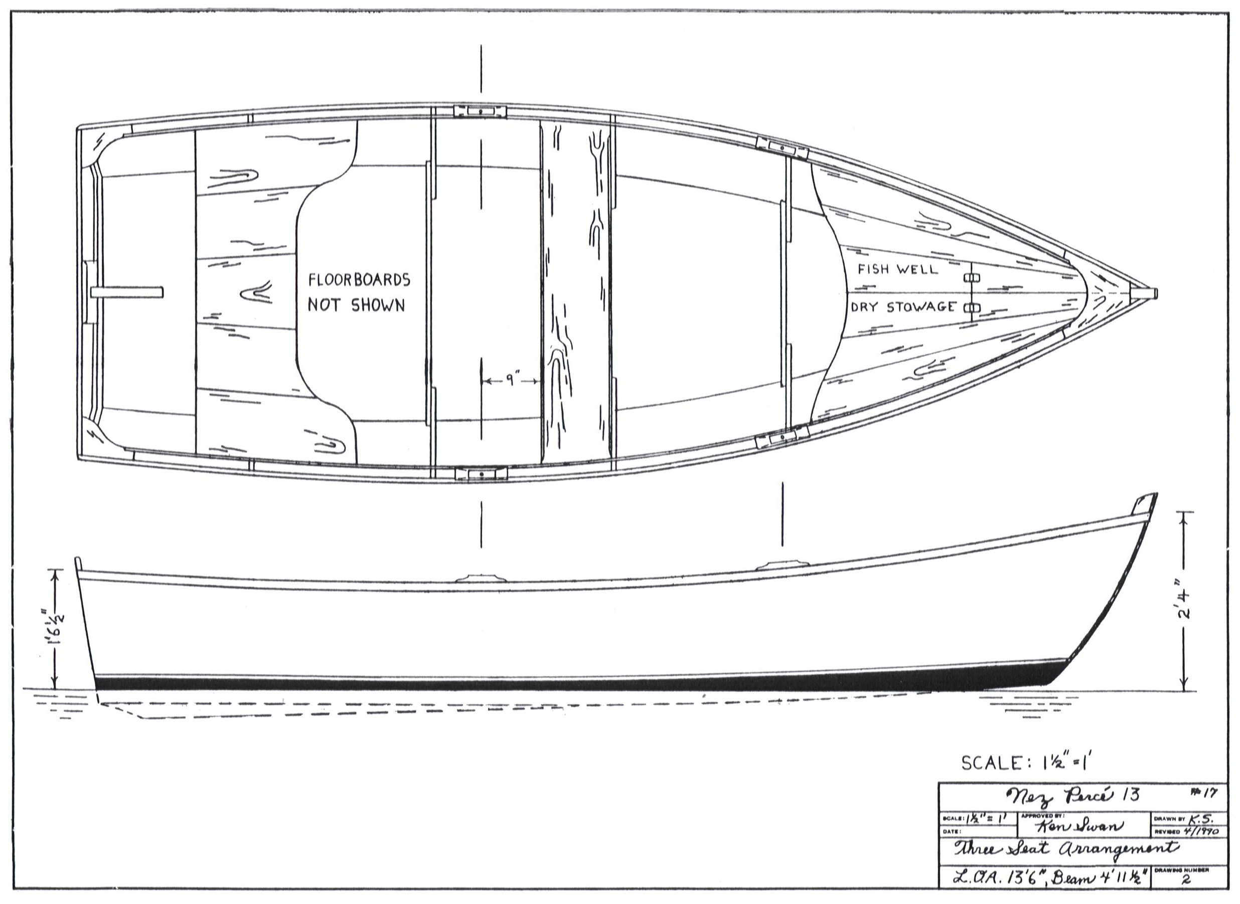 Free Small Sailboat Building Plans