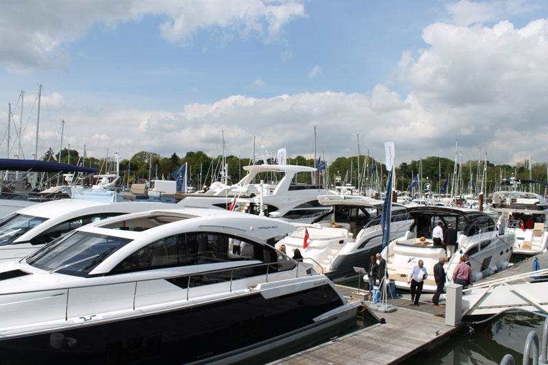 Motor Boat & Yachting   British Motor Yacht Show