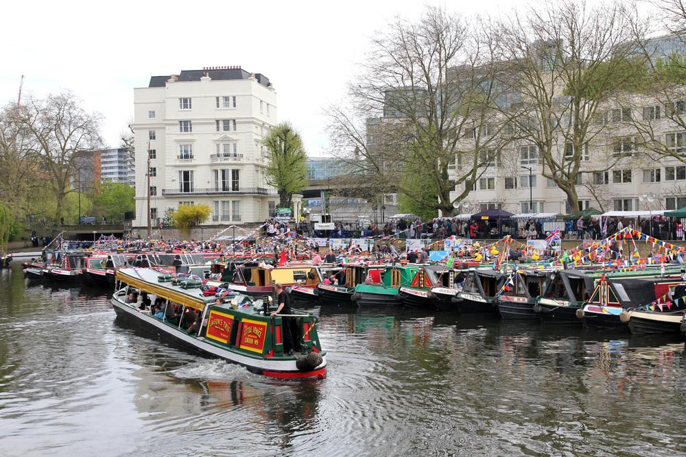 London litle venice best boat photos