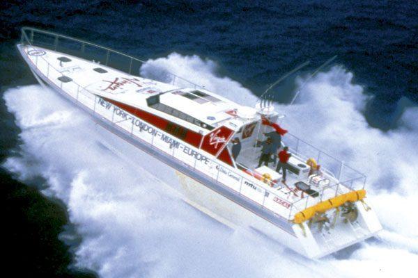 Motor Boat & Yachting   Virgin Atlantic Challenger II