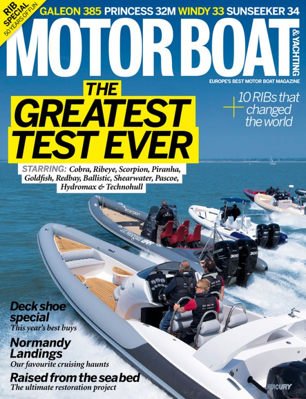 Motor Boat & Yachting | August 2013 Cover