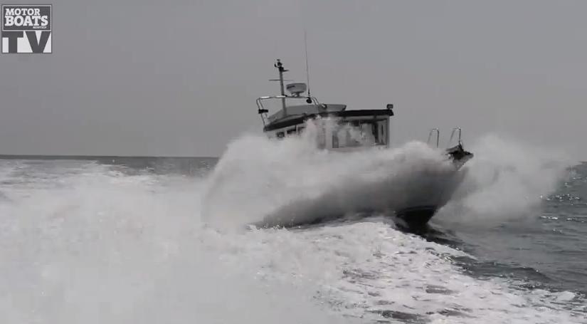 used boat test botnia targa 27