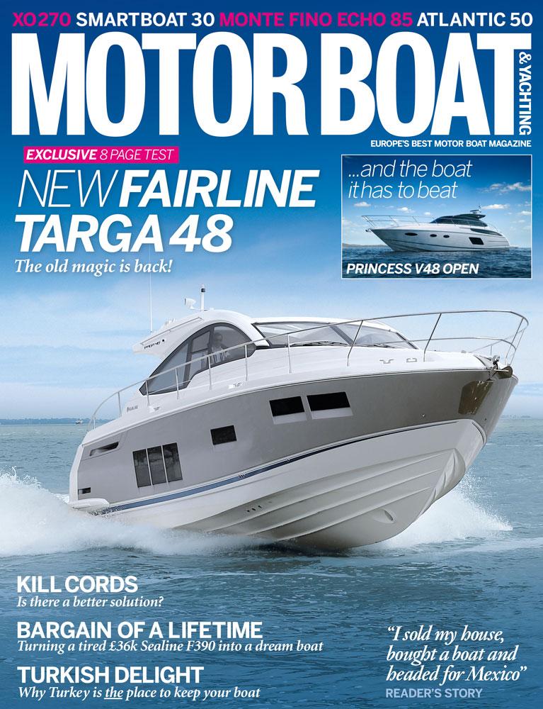 Motor Boat & Yachting | September 2013 Cover