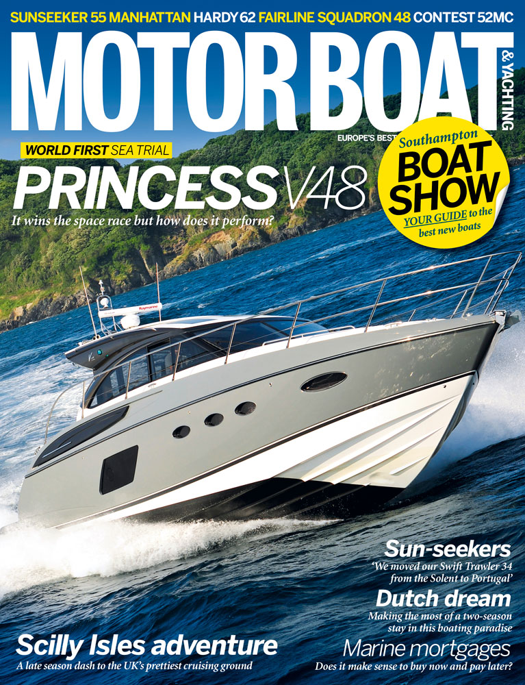 Motor Boat & Yachting | October 2013 cover