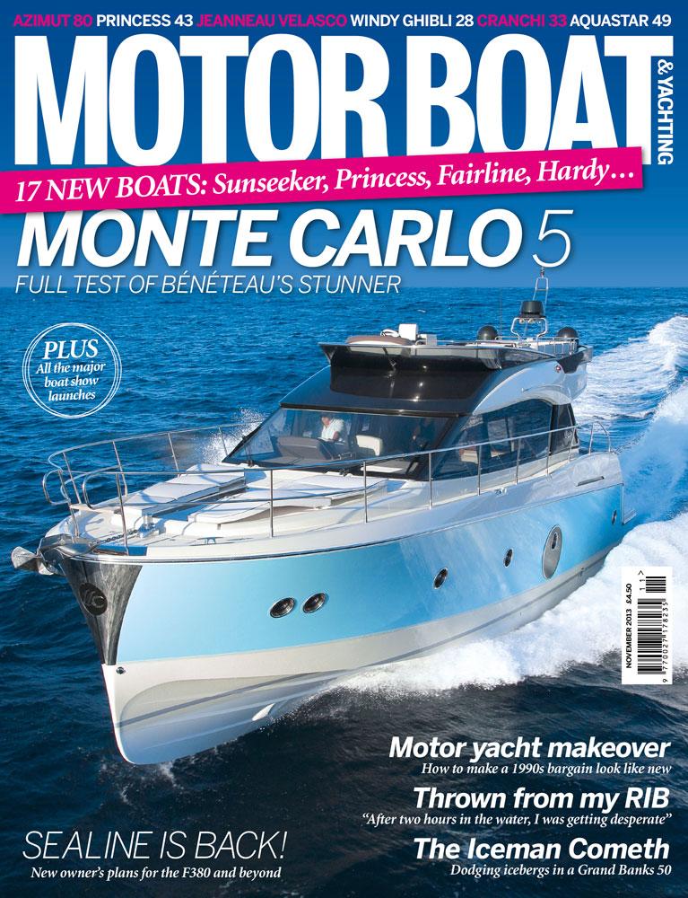 Motor Boat & Yachting | November 2013 Cover