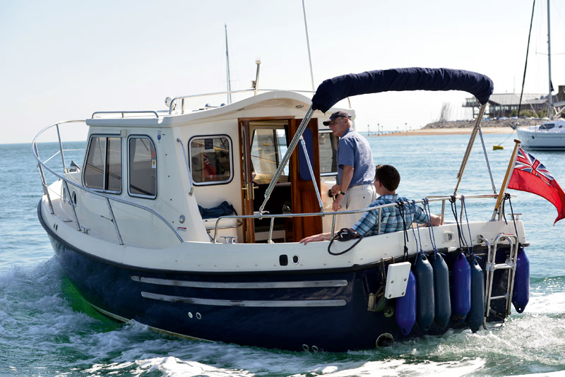 Trusty t23 used boat review motor boat yachting for Used boats and motors