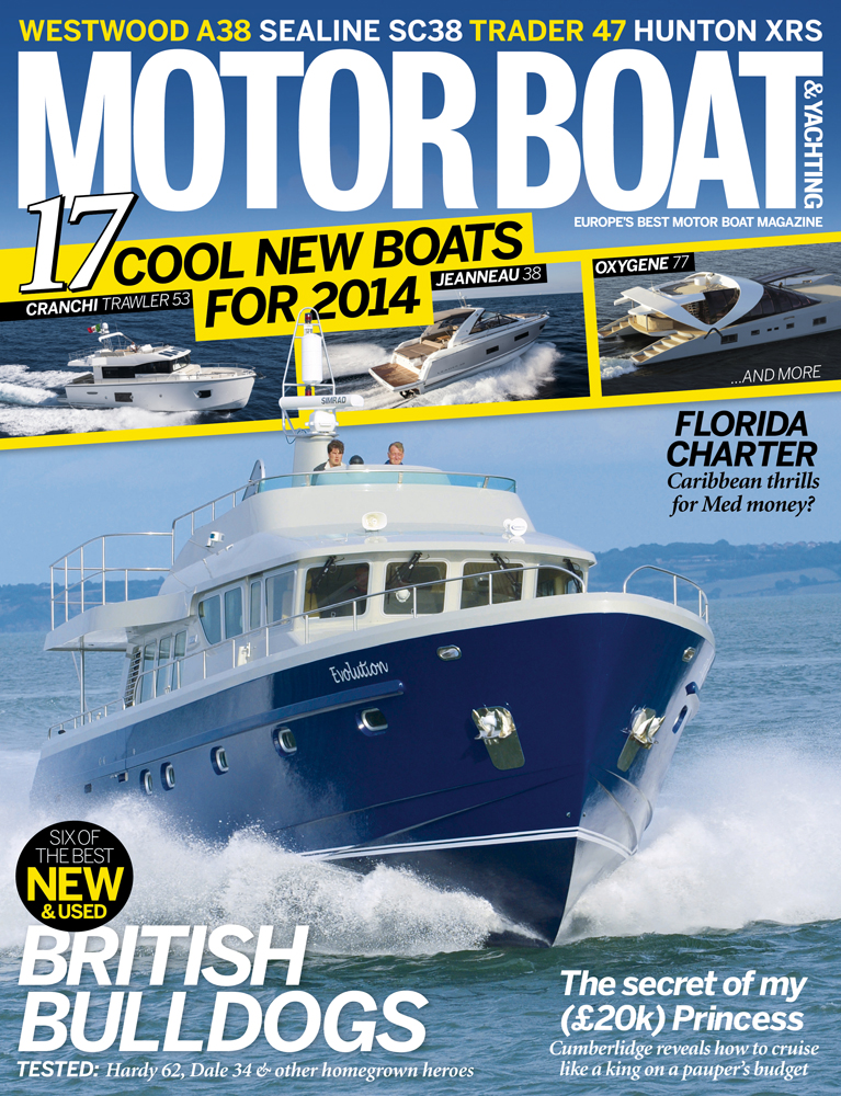 Motor Boat & Yachting | December 2013 Cover