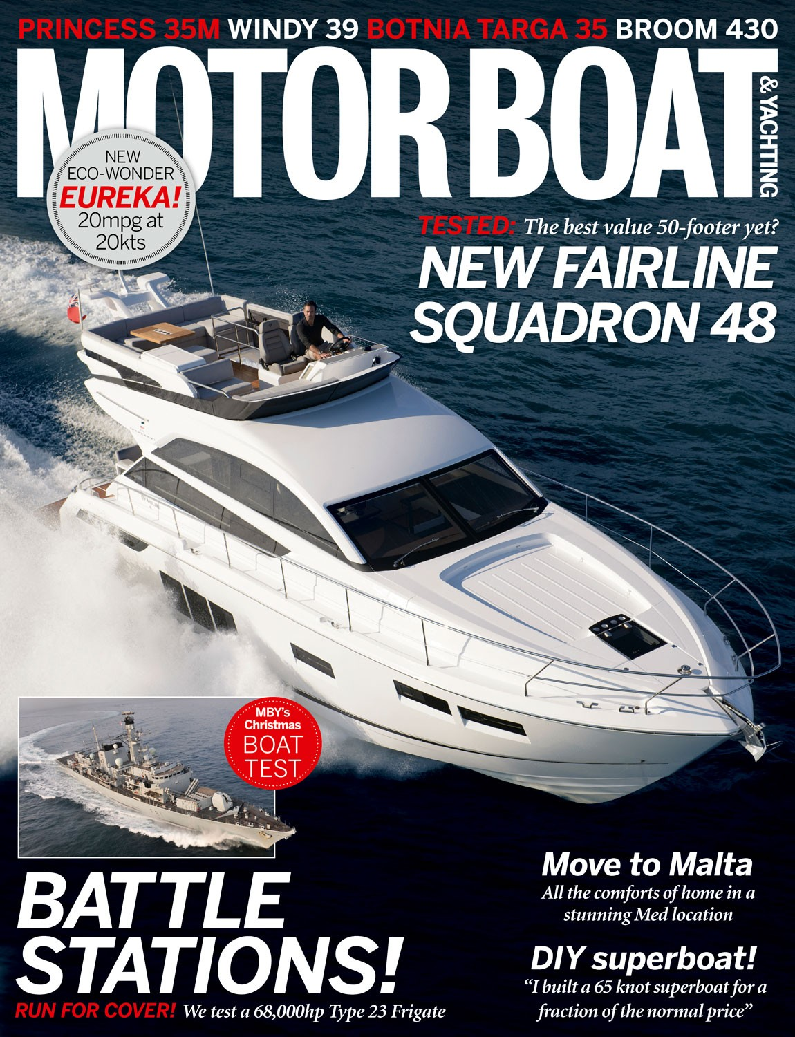 Motor Boat & Yachting | January 2014 Cover