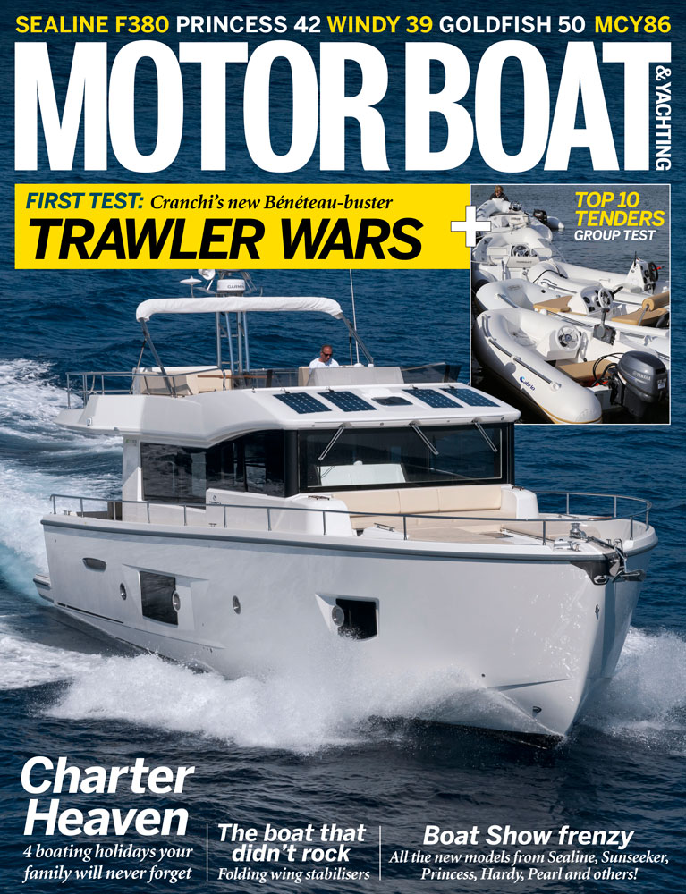 Motor Boat & Yachting | February 2014 Cover