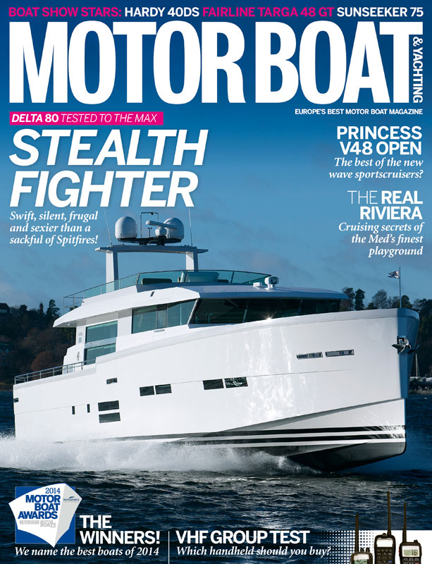 Motor Boat & Yachting | March 2014 Cover
