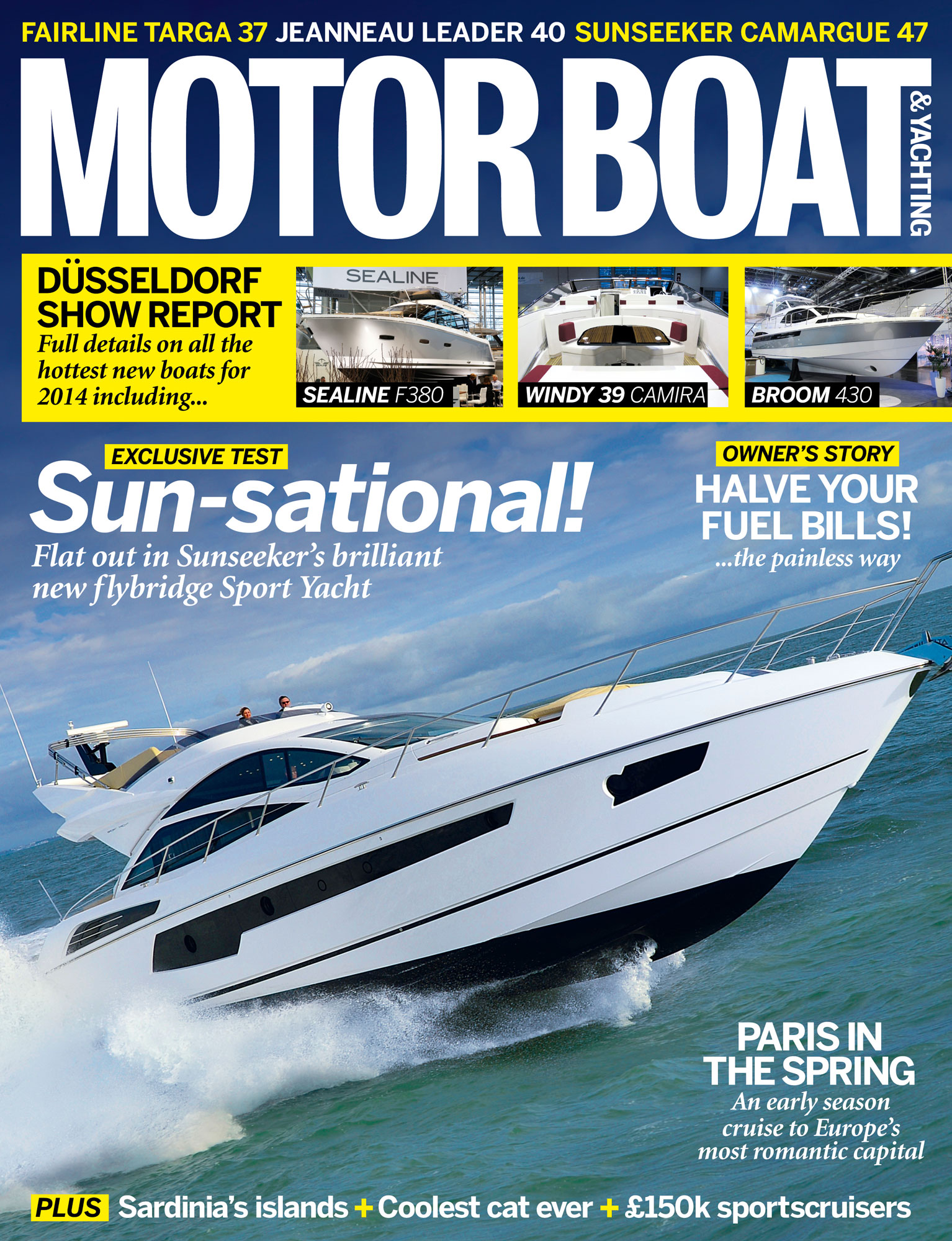 Motor Boat & Yachting | April 2014 Cover