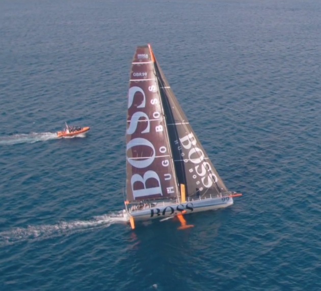 hugo boss yachting watch