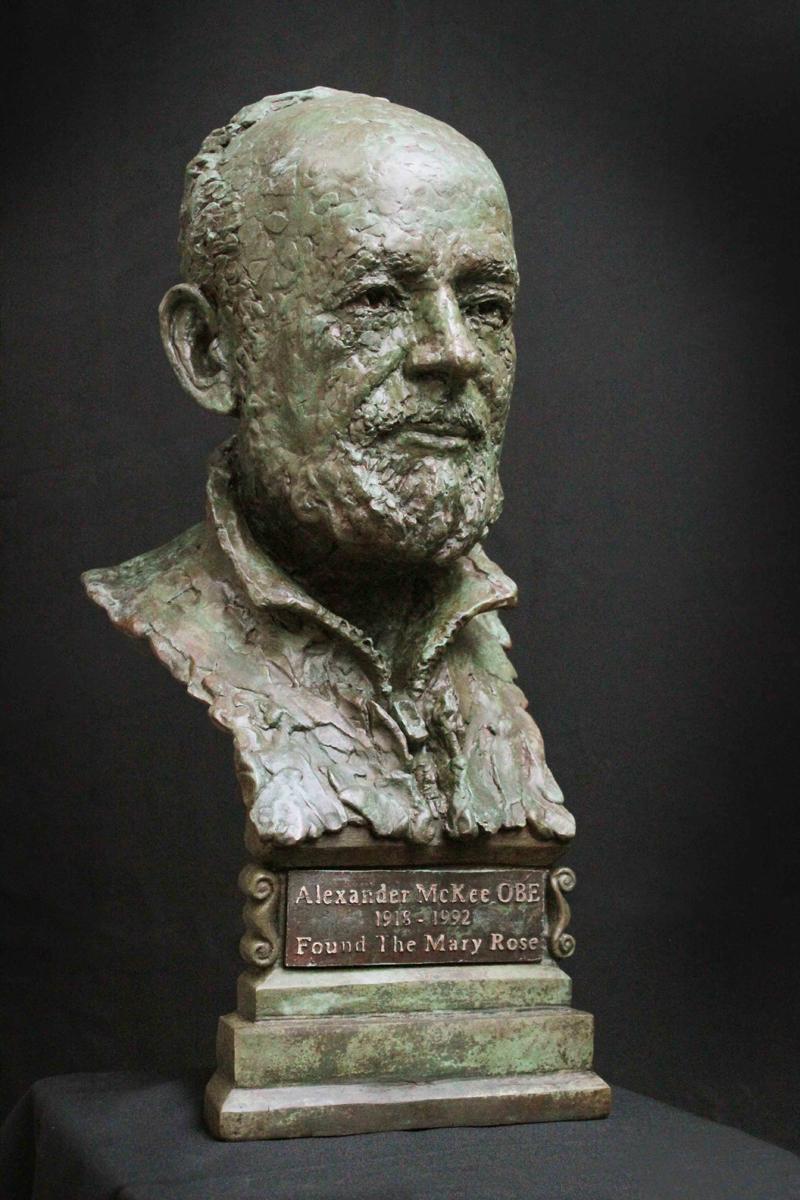 Alexander McKee bust