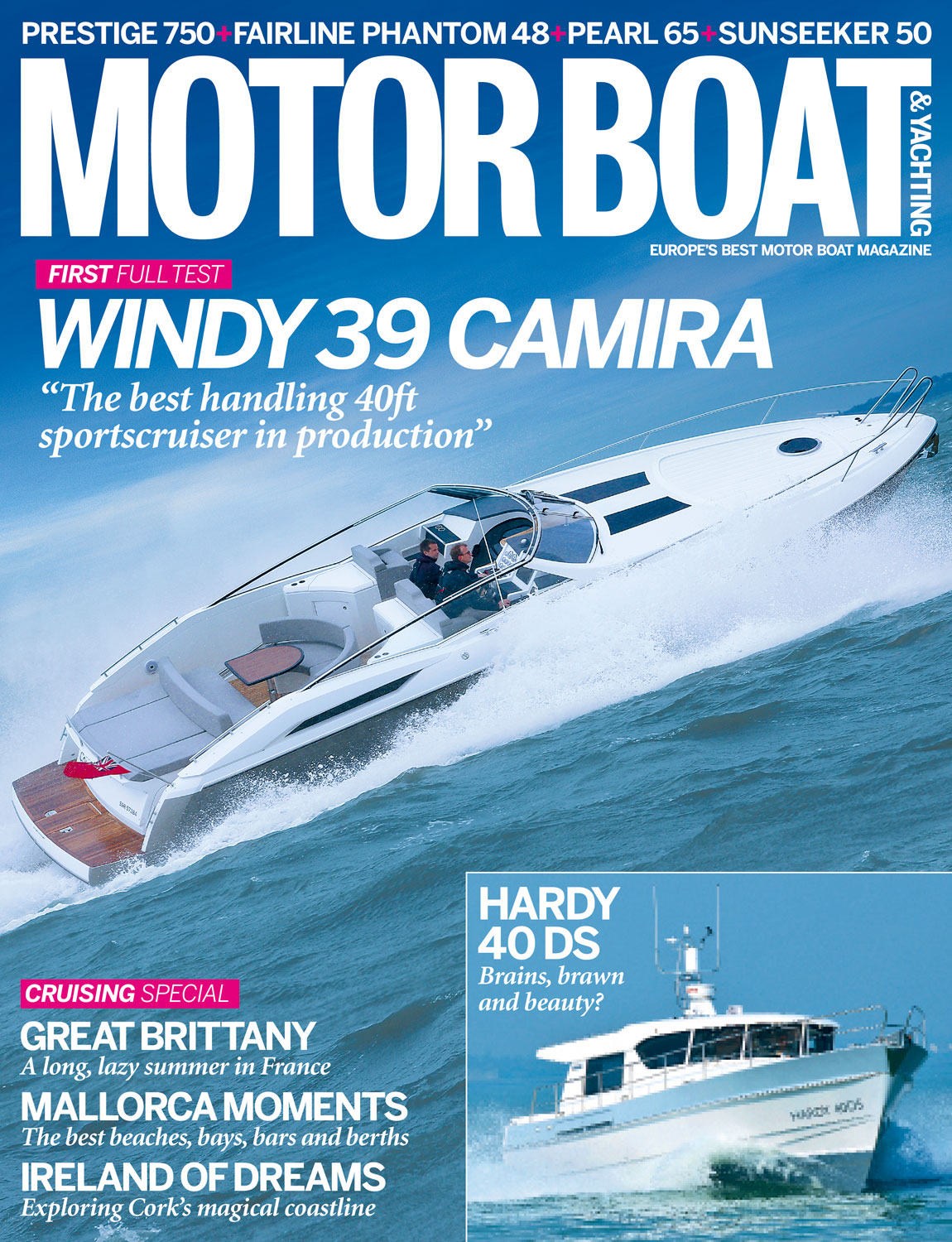 Motor Boat & Yachting | June 2014 Cover