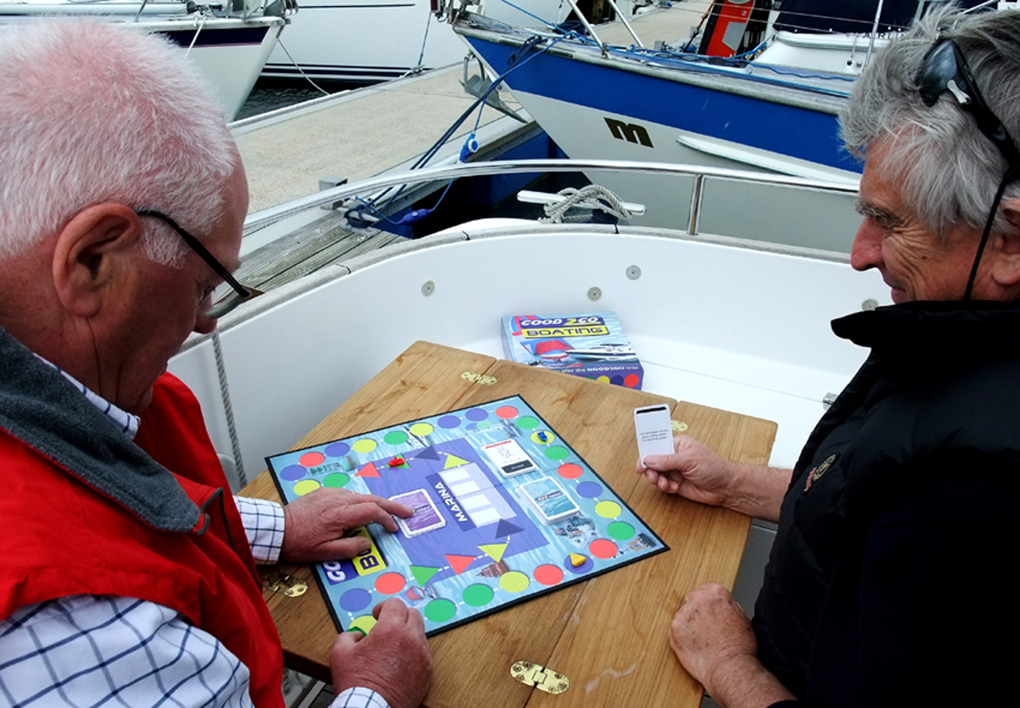 Good to go... Boating board game