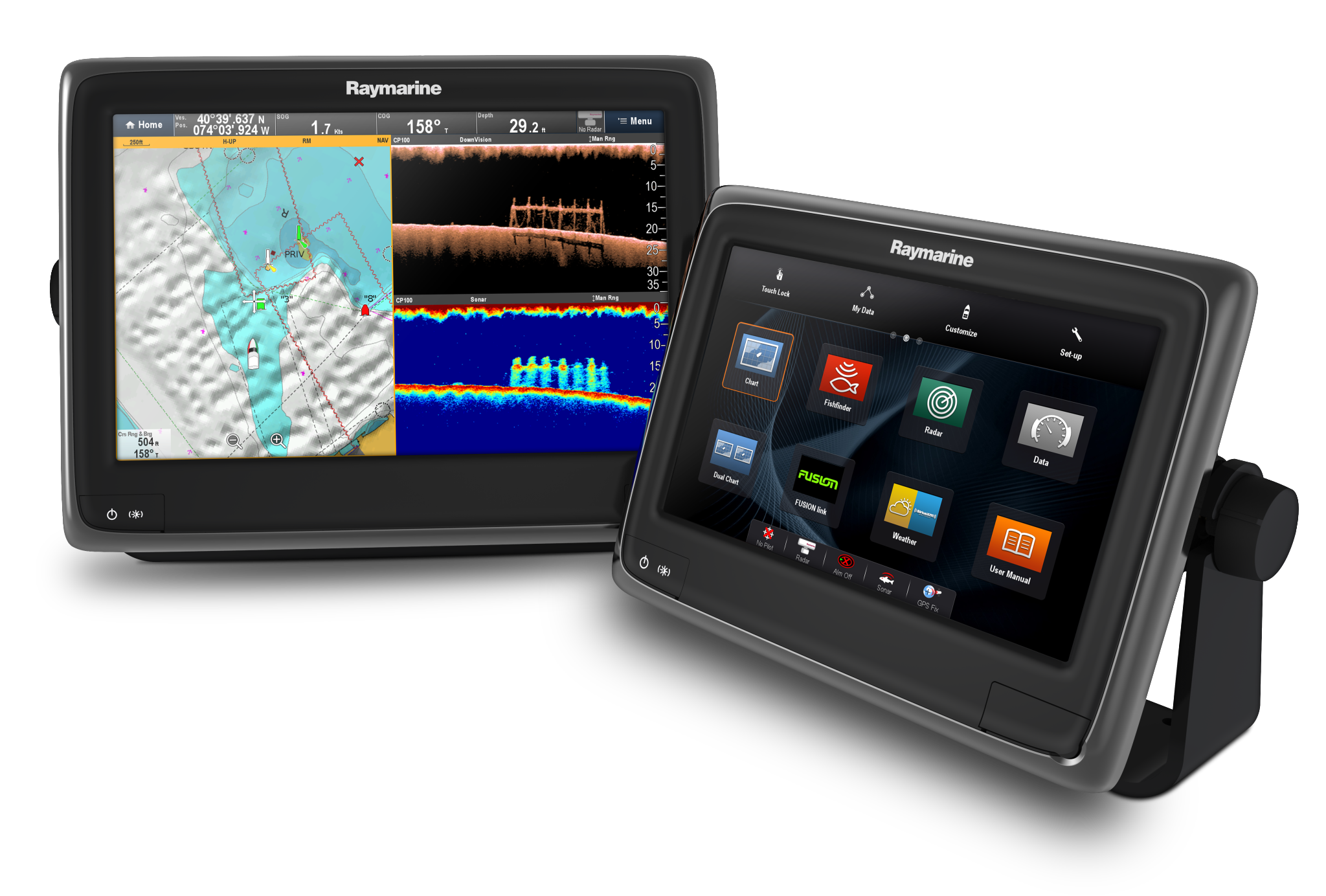 Raymarine a9 and a12