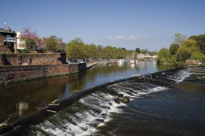 Chester Weir on the River Dee