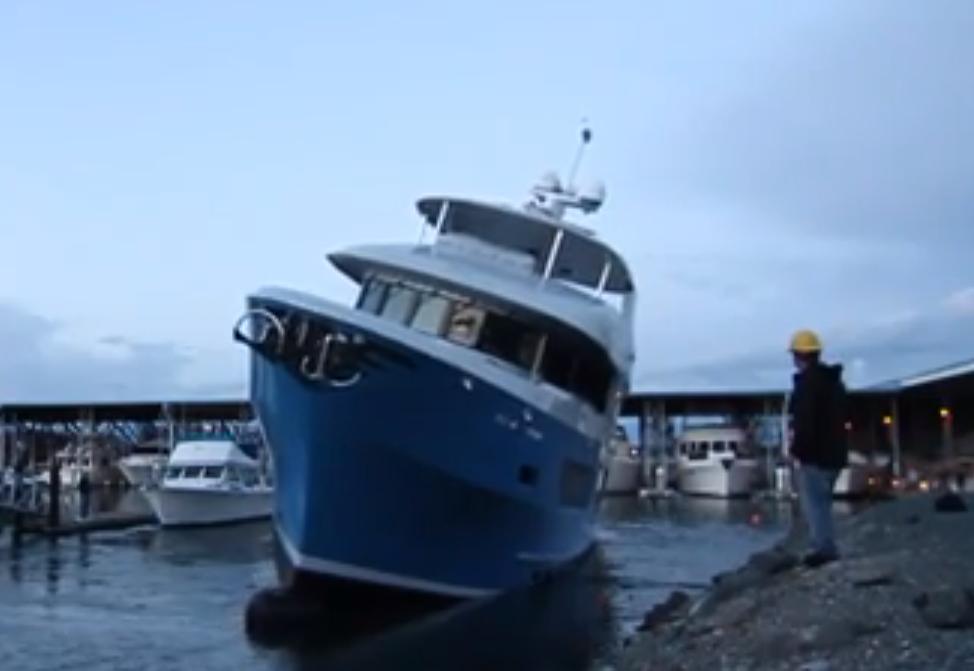 Northern Marine launch sink