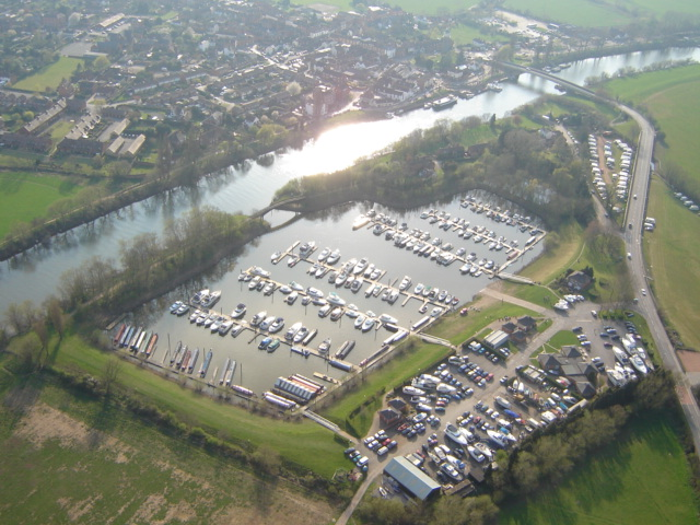 upton marina, Worcestershire