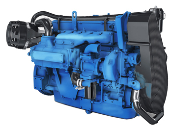 Nanni N6 marine diesel engine