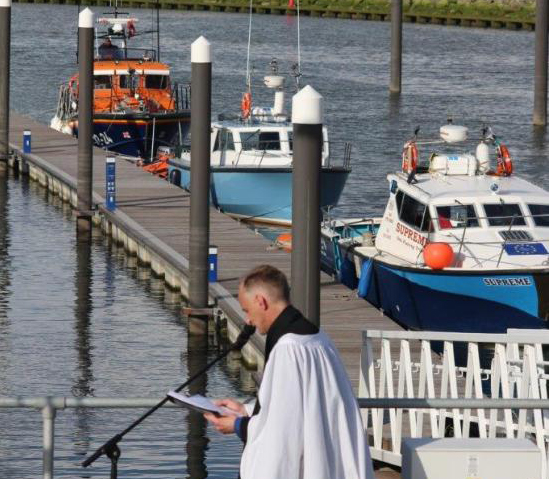 Rhyl RNLI blessing of the boats