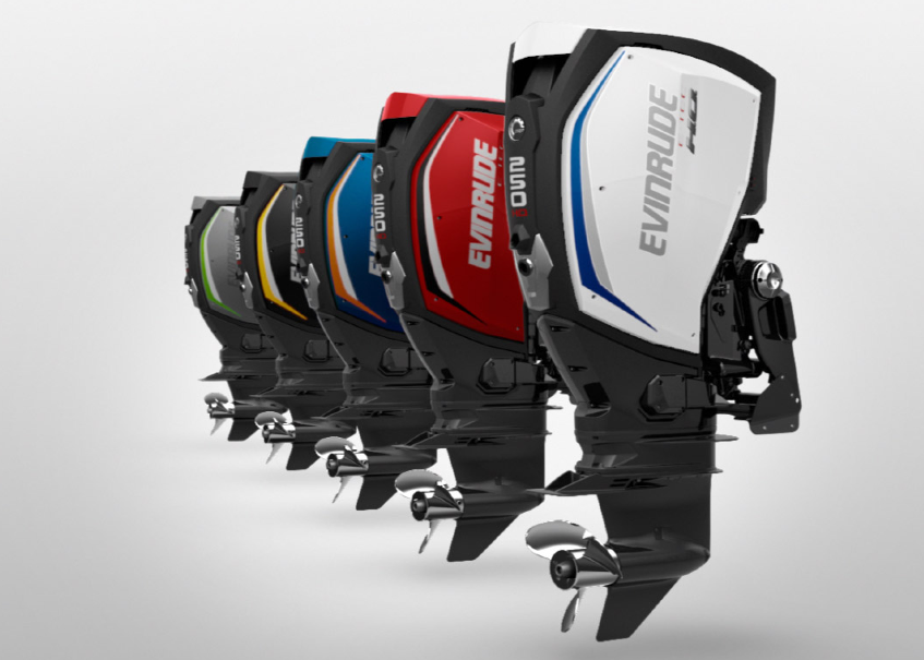 BRP Evinrude E-TEC G2 outboard range