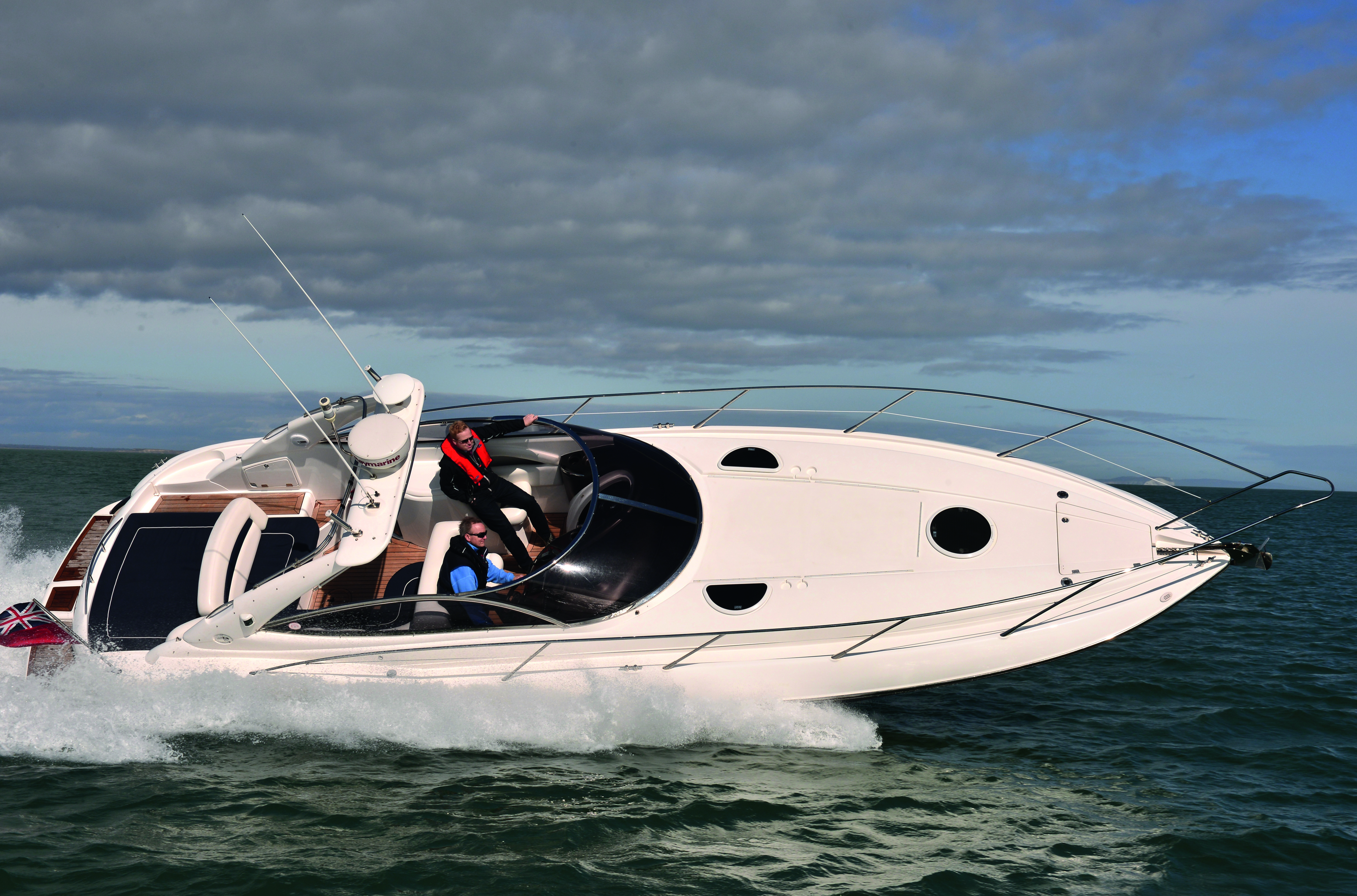 Sea Hawk Boats >> Video: Sunseeker Superhawk 34 used boat test - Motor Boat & Yachting