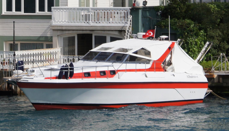 Turkey motorboat