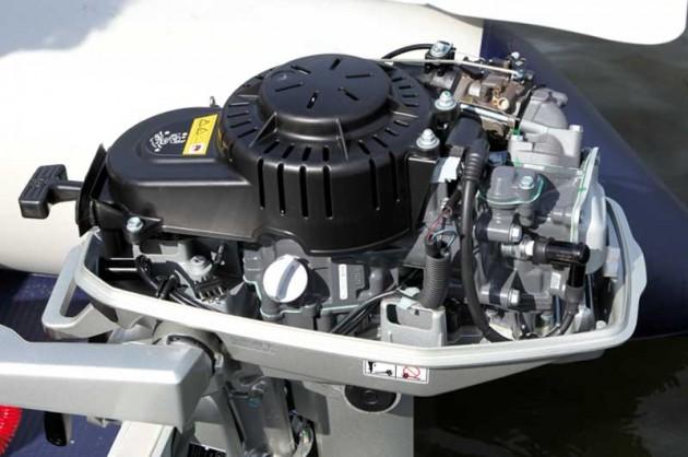 Honda 5hp outboard engine